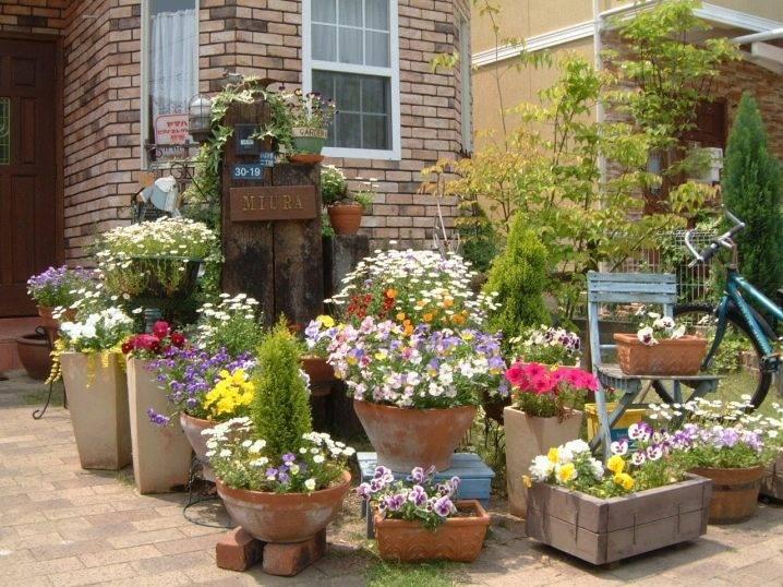 Уличные вазоны для цветов: 100  фото [идей для частного двора]