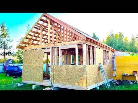 Какая себестоимость каркасного дома своими руками: цена и материалы строительства- советы: обзор +видео