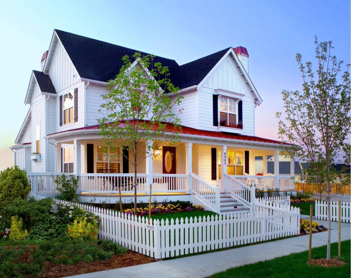 Виды крыш частных домов – проекты и варианты строительства кровли