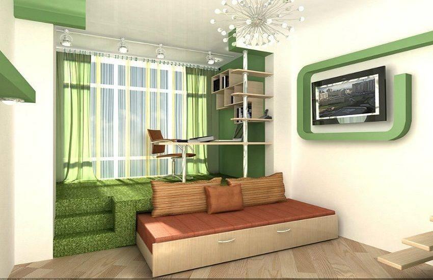 Разделение помещения на зоны по перегородкам. как разделить комнату с занавеской на две зоны
