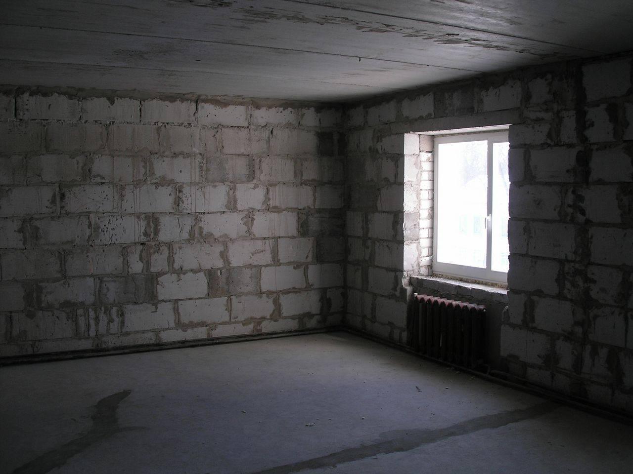 Что такое черновая отделка квартиры в новостройке