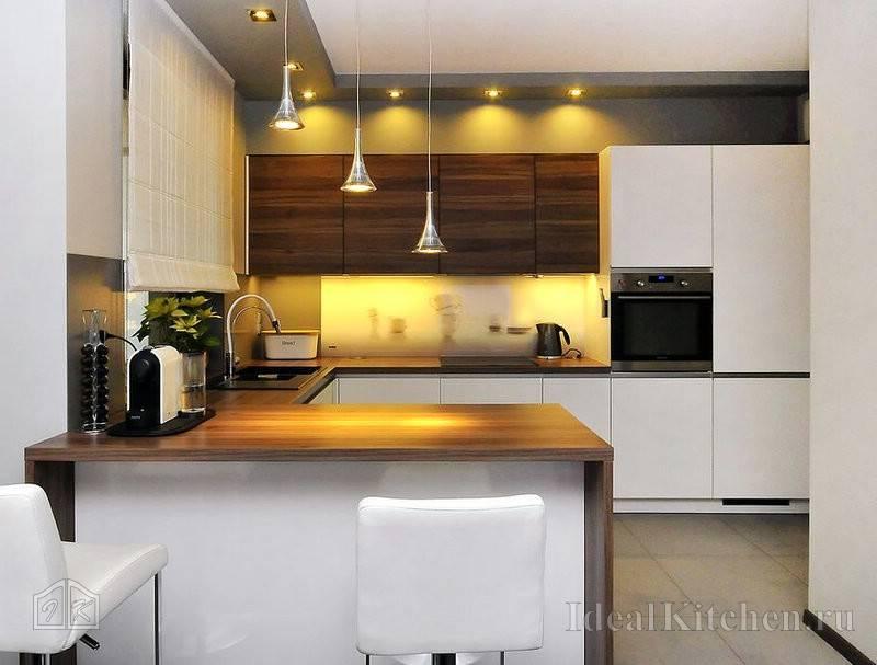 П-образная кухня: 75 фото лучших решений дизайна и оформления для нестандартной кухни