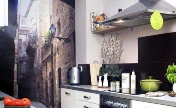 Фотообои для кухни: современные идеи, стиль и дизайн