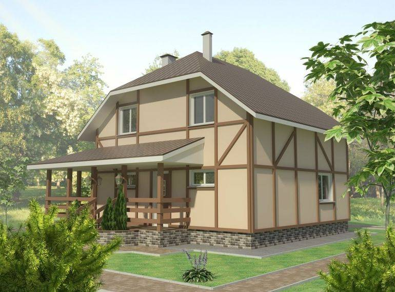 Этапы строительства дома из бруса, газобетона, кирпича, бревна, выбор материалов, проект, технология, фото