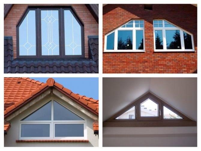 Окна в гостиной загородного дома: 100 фото красивых решений
