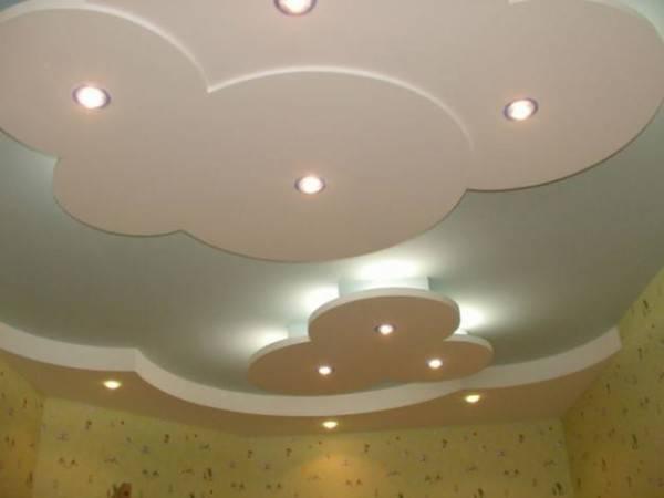 Многоуровневые потолки из гипсокартона - фото вариантов дизайна, как они создаются