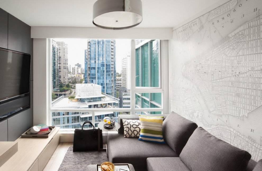 Идеи для гостиной (91 фото): интерьер маленькой комнаты в квартире, красивые современные примеры для оформления зала