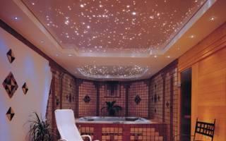 Натяжной потолок с подсветкой (64 фото): многоуровневые конструкции со светодиодной подсветкой внутри по периметру