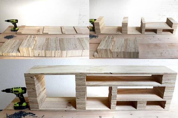 Мебель для сада своими руками: фото, идеи работ