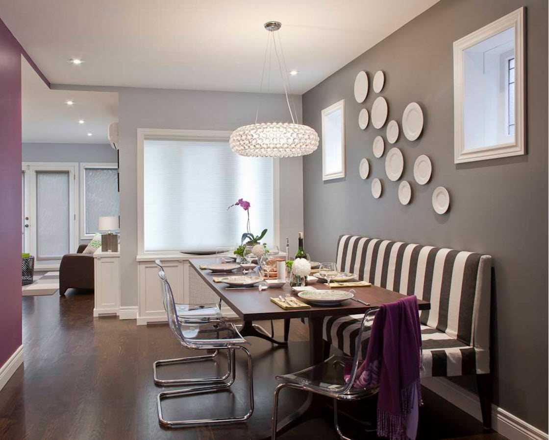 Что повесить над столом в кухне: варианты декора +80 фото