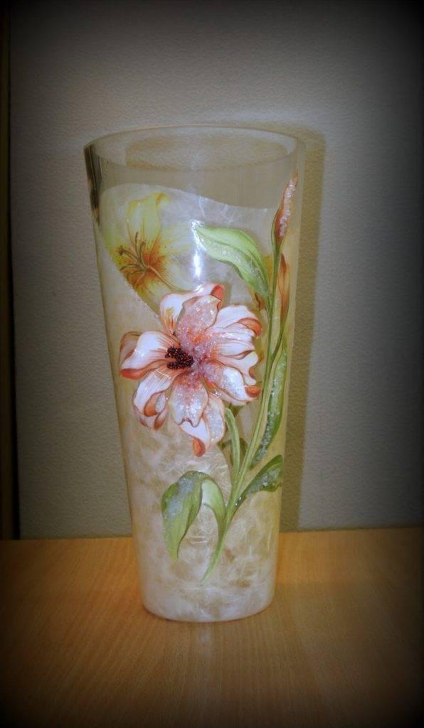 Декор вазы своими руками — простое искусство преображения
