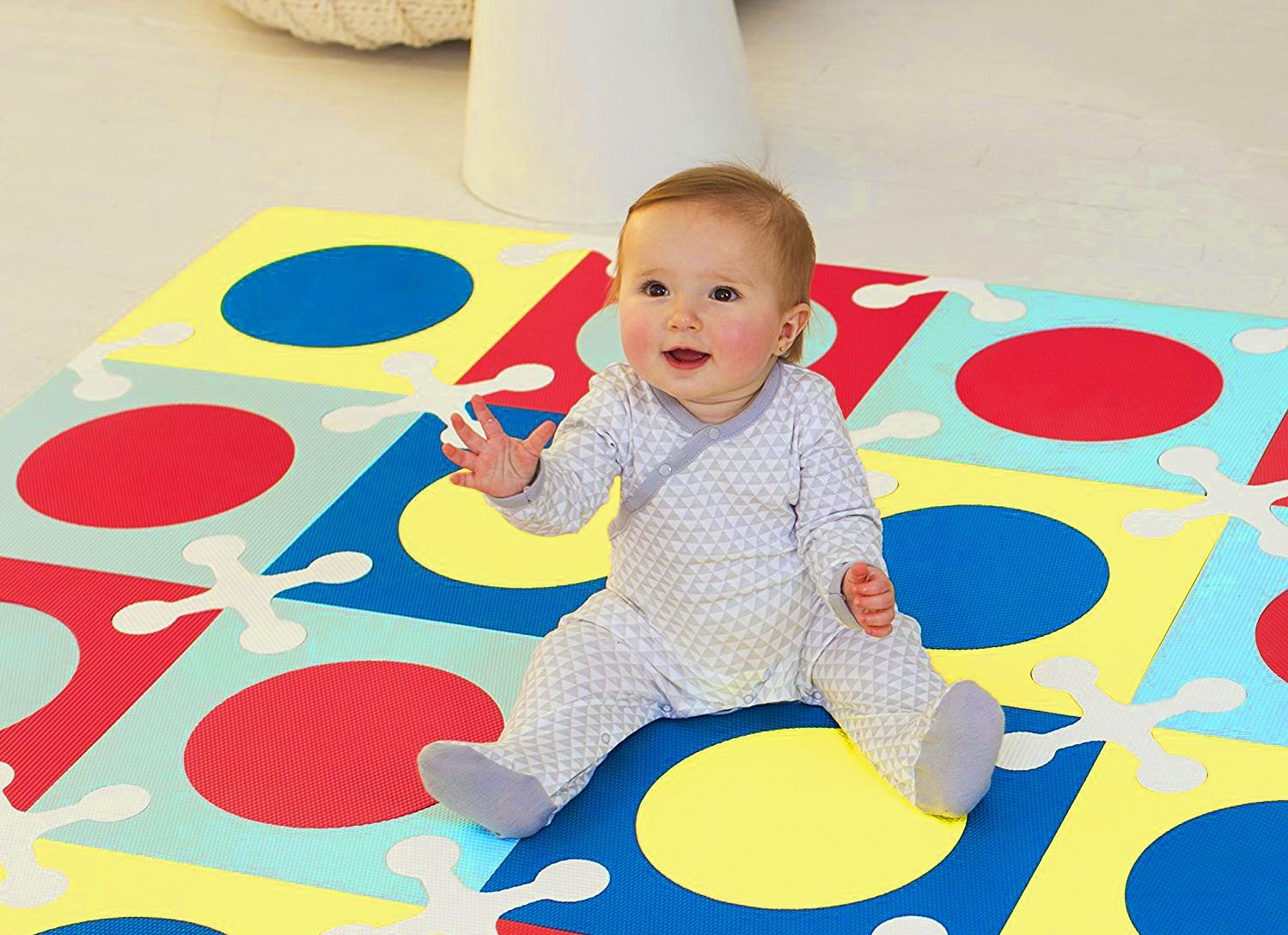 Детский коврик-пазл: большие для ползания на полу, мягкие напольные для комнат