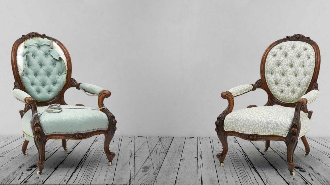 Реставрация старой мебели своими руками