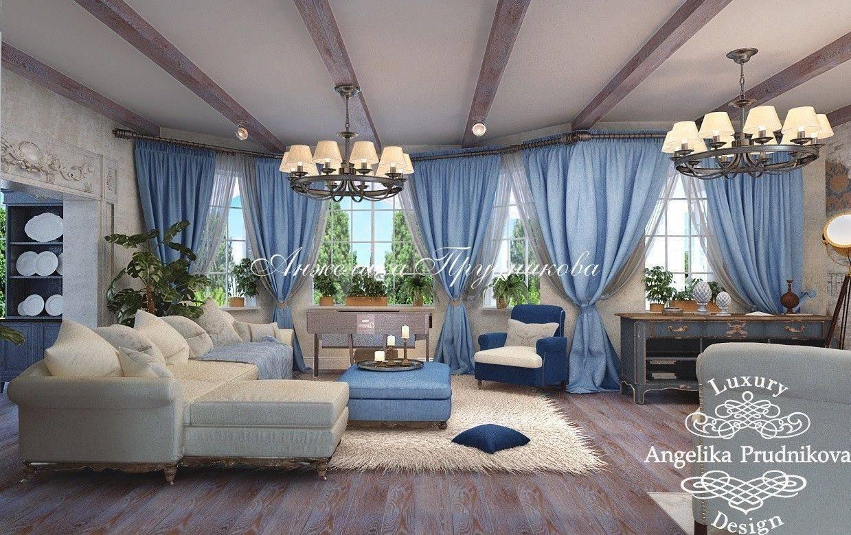 Шторы прованс — идеи оформления и обзор идеальных сочетаний штор в деревенском стиле (110 фото и видео)