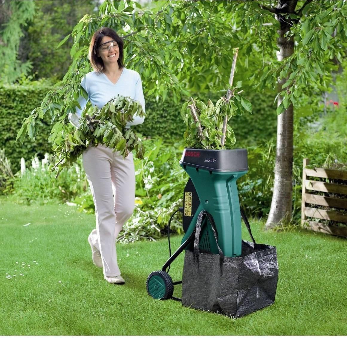 Обзор 8-ми лучших моделей садовых измельчителей. рейтинг по отзывам пользователей