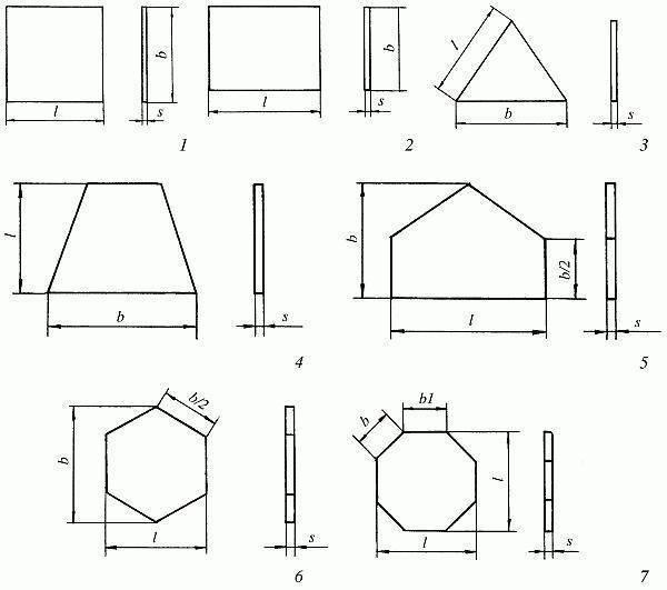 Размеры керамической плитки для пола и стен