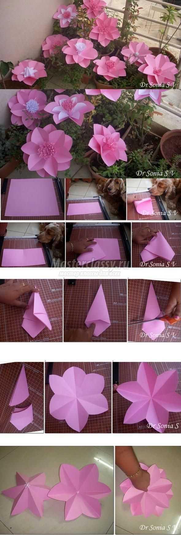 Декор из бумаги на все случаи жизни
