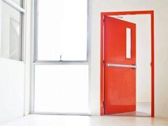 Противопожарные металлические двери: гост, однопольная конструкция ei 60, замки для них