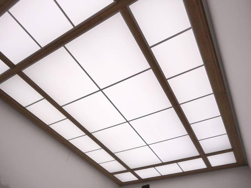 Какие бывают потолки стеклянные – виды, особенности, правила монтажа