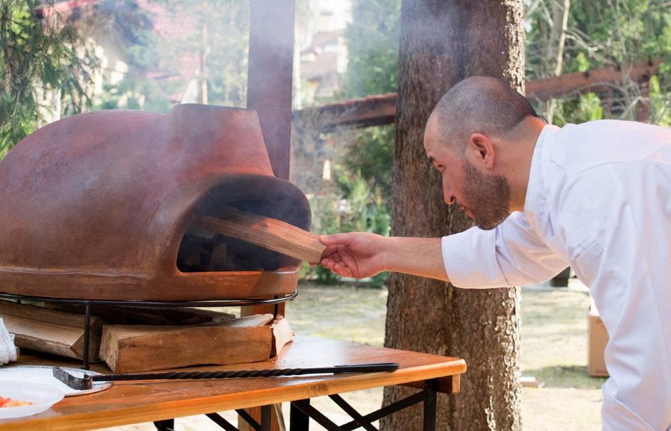 Уличный садовый камин-печь из кирпича для дачи своими руками: фото и видео, как сделать