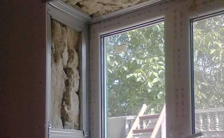 Откосы на окна внутренние и наружные - варианты отделки