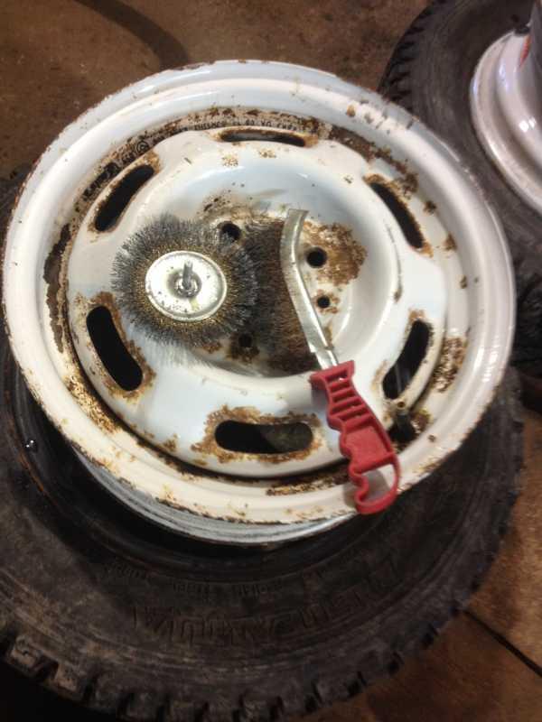Как подготовить диски к покраске и правильно их зачистить? - автомастер