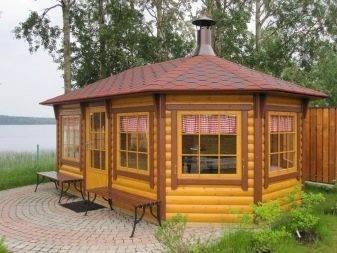 Строительство беседок (138 фото): виды построек, размеры альтанки, современные конструкции во дворе частного дома - просто и красиво