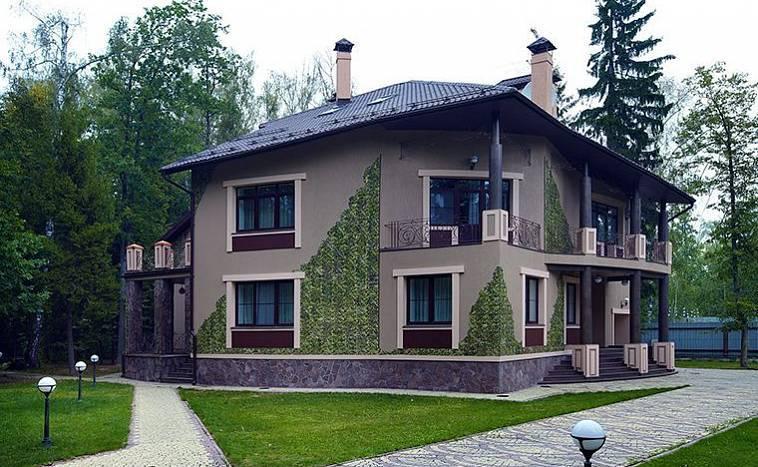 Современные архитектурные стили для частных домов - bm строй