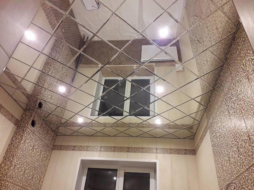 Особенности и порядок создания бесшовных потолков из пенопласта