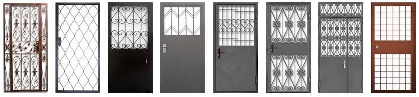Металлические решетчатые двери - купить в пушкино по цене от 8000 руб.