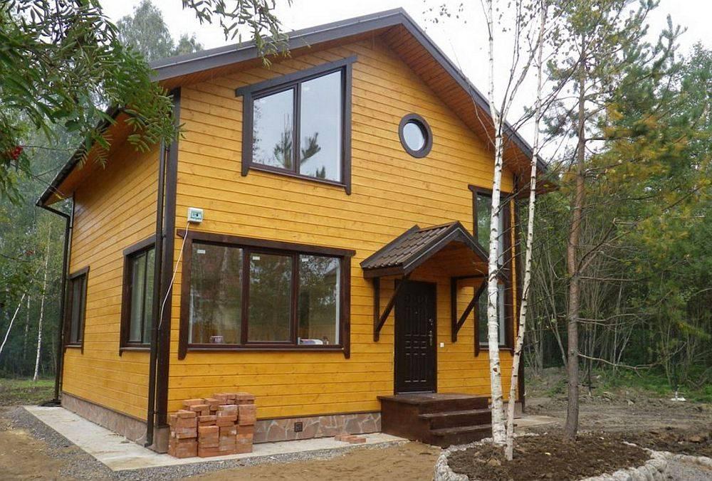 Варианты строительства фундамента для каркасного дома