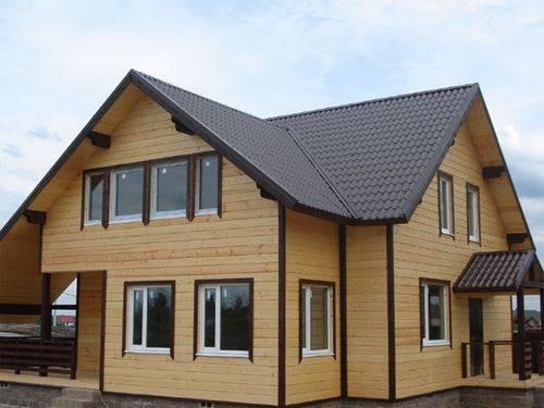Варианты красивой обшивки для деревянных домов: особенности выбора и использования