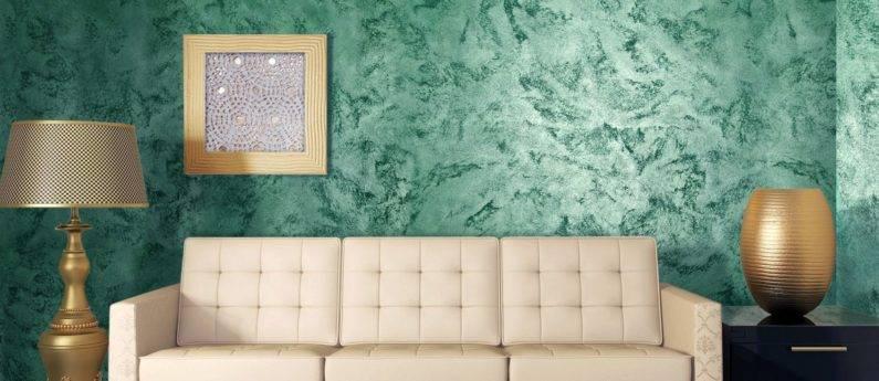 Перламутровая краска для стен своими руками — колер перламутровый