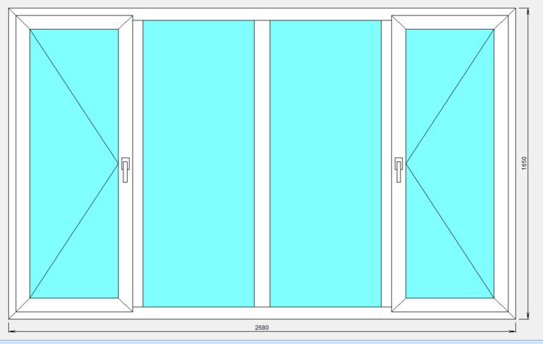 Размеры пластиковых окон по госту