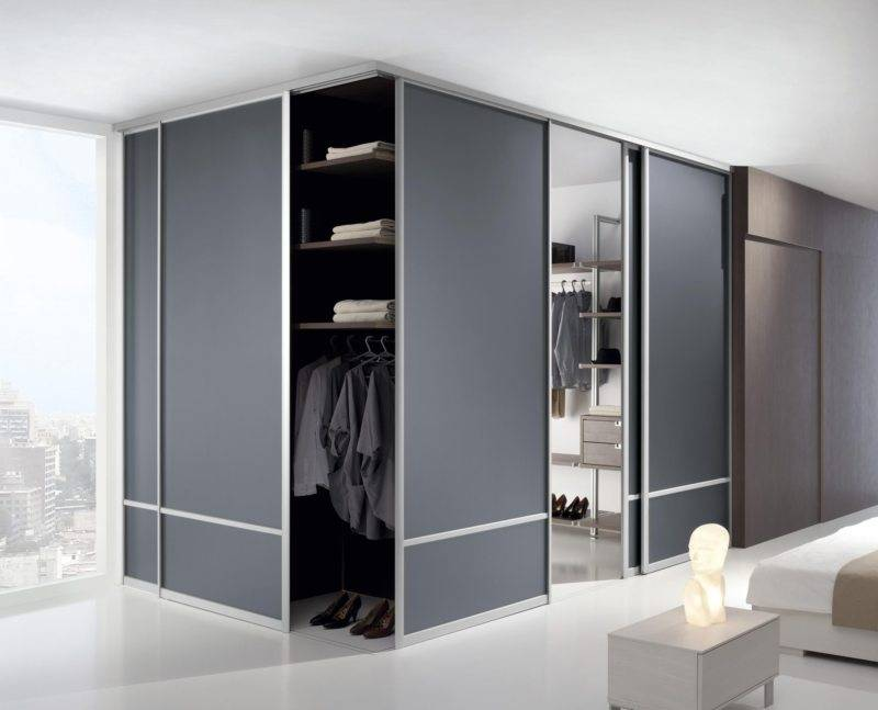 Радиусные шкафы: 105 фото стильных интерьерных решений