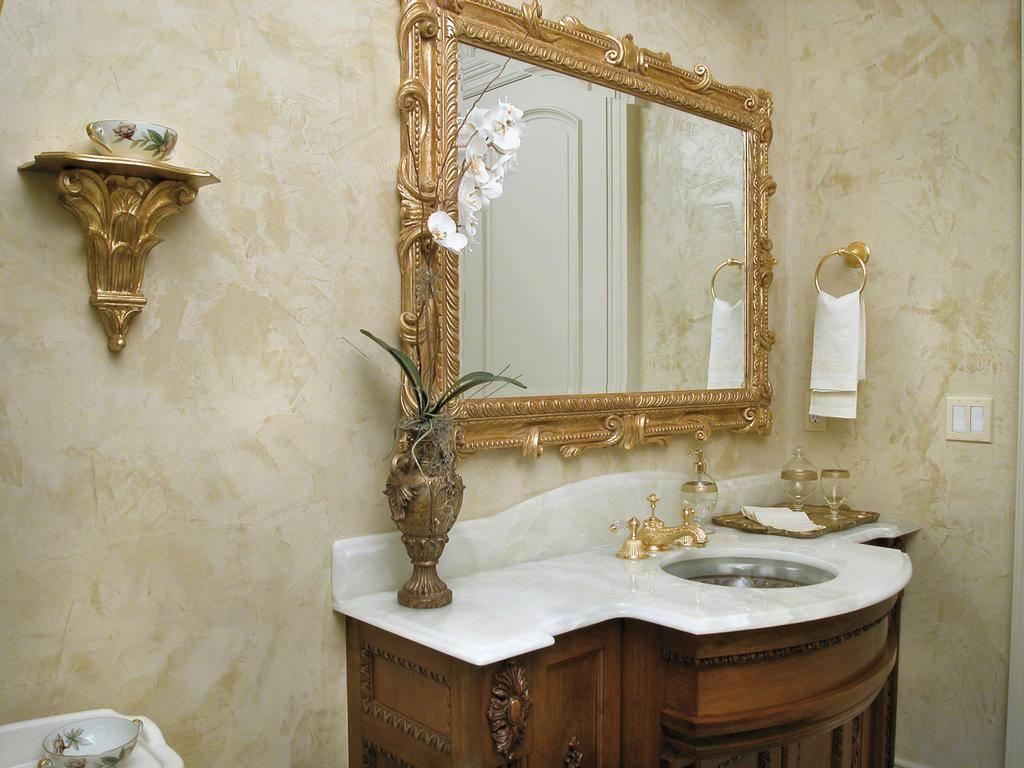 Декоративная штукатурка в ванной (61 фото): отделка стен комнаты декоративным влагостойким составом, венецианская штукатурка