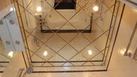 Реечный потолок в ванной - виды, монтаж и основные разновидности конструкций (95 фото)