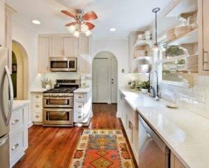 Ковер на кухню: как выбрать материал, форму, дизайн