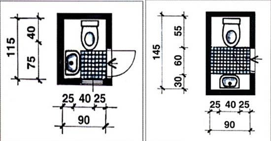 Размеры санузла для инвалидов: стандарты, нормы, требования снип и необходимое оборудование