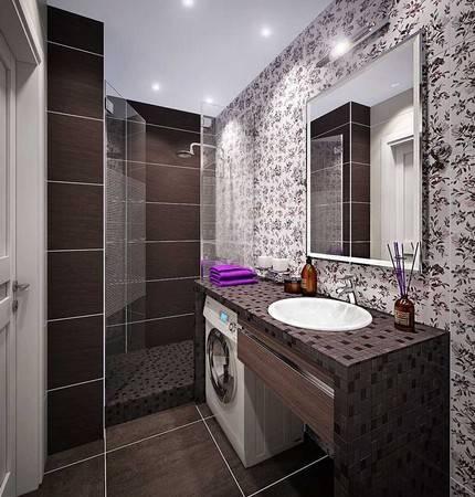 Ванная 5 кв. м. - современные проекты, интересные идеи дизайна интерьера и удобной планировки