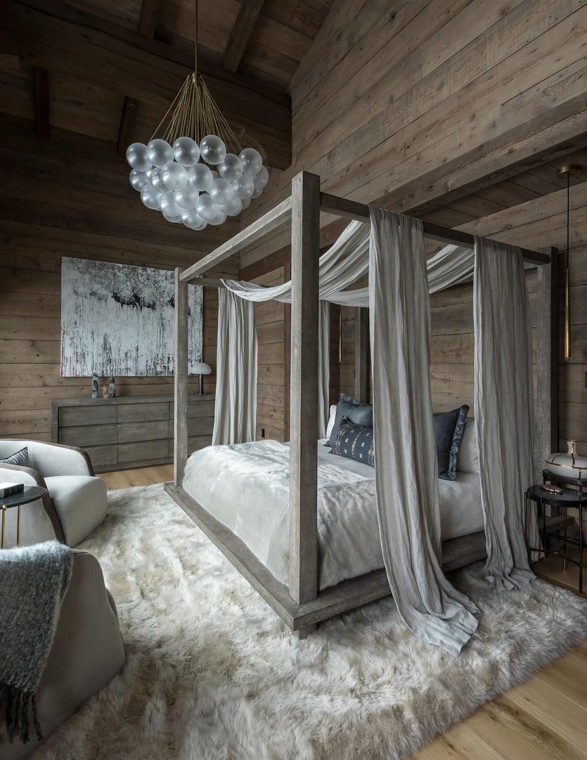 Уютно и колоритно: идеи оформления спальни в деревенском стиле (+89 фото)