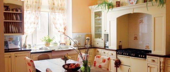 Идеальная и современная кухня в частном доме + фото