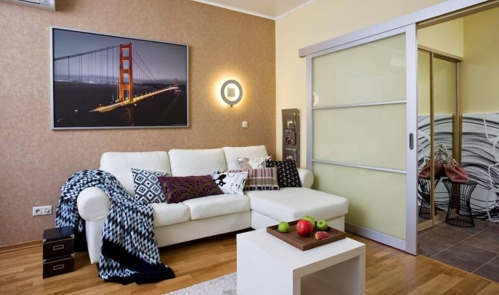 Особенности дизайна однокомнатной квартиры 45 кв. м.