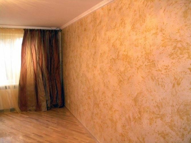 Декоративная покраска стен своими руками необычные способы нанесения