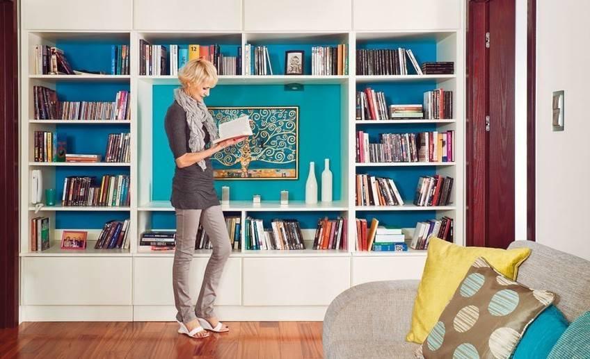 Где хранить книги в маленькой квартире, если нет книжного шкафа