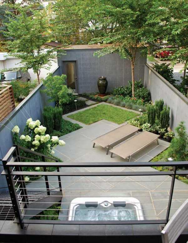 Участок площадью 12 соток с домом и баней: планирование и дизайн