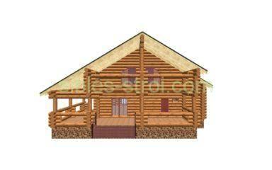 Красивые деревянные дома из бруса бревна и сруба, особенности материалов и как они влияют на внешний вид постройки - 40 фото