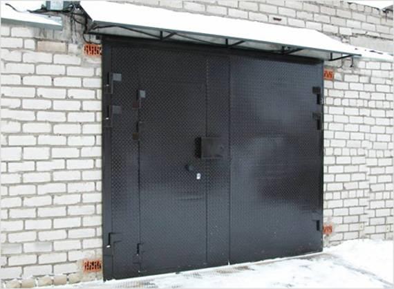 Чертежи и размеры подъемных гаражных ворот, как сделать их своими руками