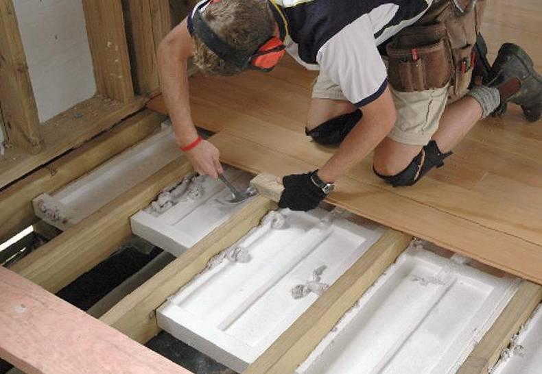 Утеплитель под ламинат на бетонный и деревянный пол – как утеплить полы?