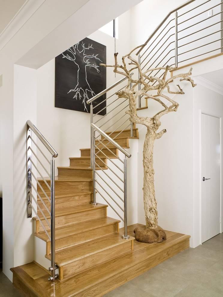 75 стильных идей дизайна лестницы в доме. варианты оформления